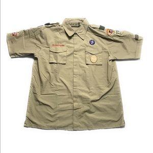 BSA Boy Scouts of America Uniform Scouting Shirt